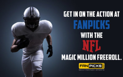 Daily Fantasy Football Freeroll Alert: NFL Conference Championship Magic Million by Spooky Express at FanPicks