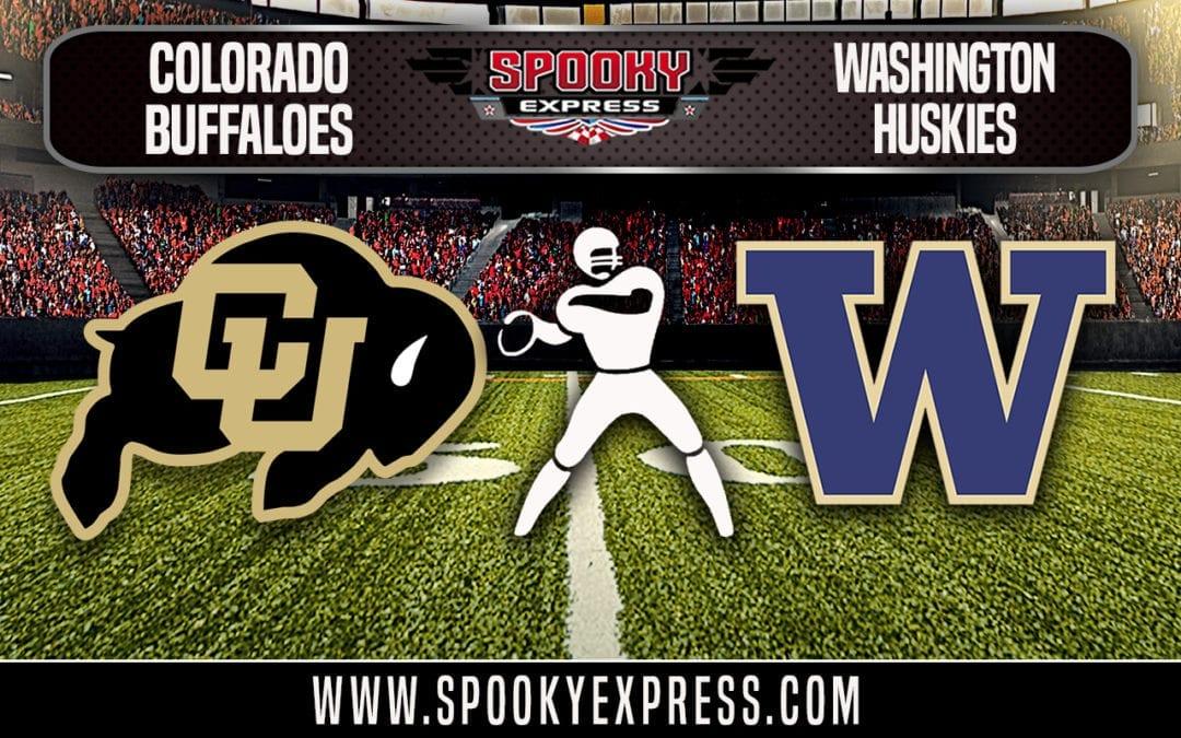 NCAA Football Betting Preview: Colorado Buffaloes vs. Washington Huskies – Saturday, October 20, 2018