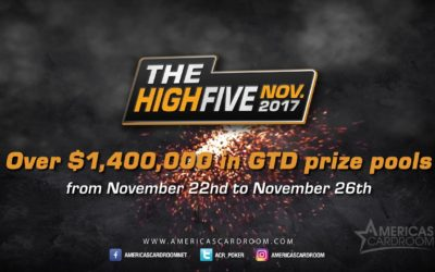High Five returns with a smoking $1.4 Million in guarantees