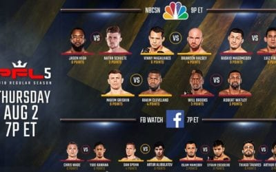 PFL#5 Handicapping Tips and Betting Picks