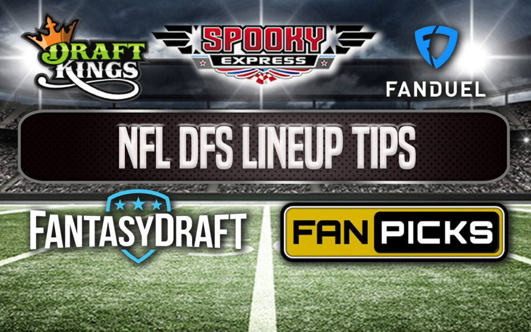 DFS Lineup Tips for Week 2 in the NFL
