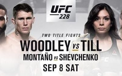 UFC 228 Handicapping Tips and Betting Picks