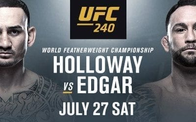 UFC 240: Holloway vs. Edgar Handicapping Tips and Betting Picks