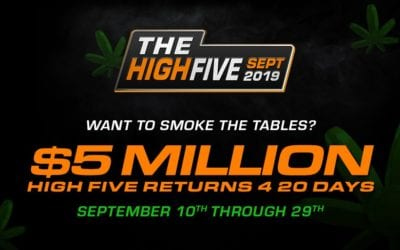 420-friendly High Five returns to Americas Cardroom