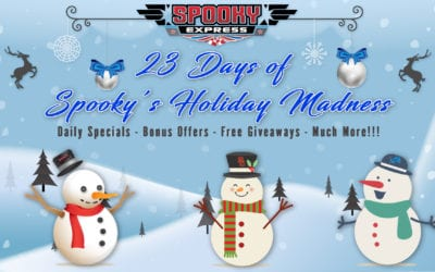23 Days of Spooky's Holiday Madness